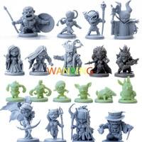 1/72 комплекты пластиковых моделей ролевых игр Arcadia Hero Quest Scale модели Миниатюрные фигурки людей игрушки для детей DIY Набор