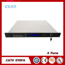 1550nm CATV optical amplifier edfa four outputs  4*22dBm