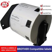 4X Совместимость DK-11209 этикетка 62 мм* 29 800 шт. совместимый для устройство для печатания этикеток белая бумага DK11209 DK-1209