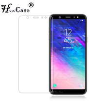 Tempered Glass for Samsung Galaxy A6 plus A7 A9 J8 J6 2018 S