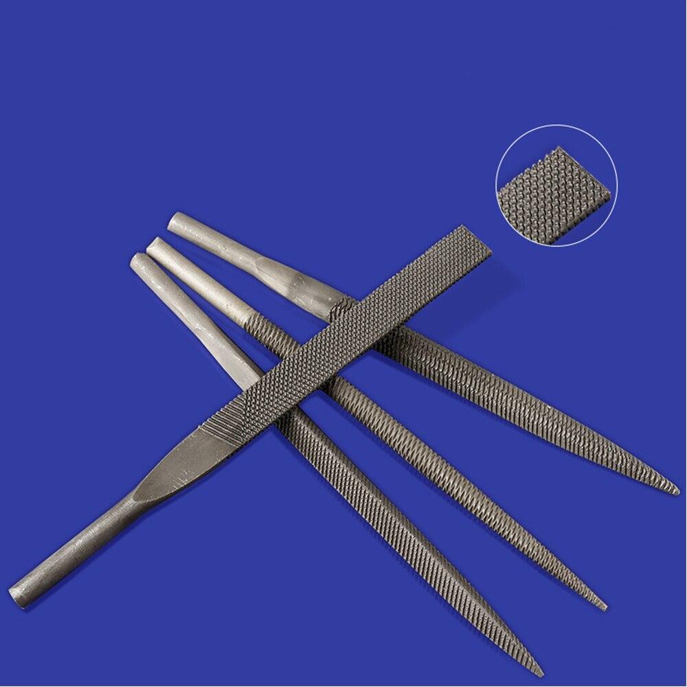 Shina 5Pc Coarse Tooth Pneumatic Air File Set Air Polishing Rasps Professional File