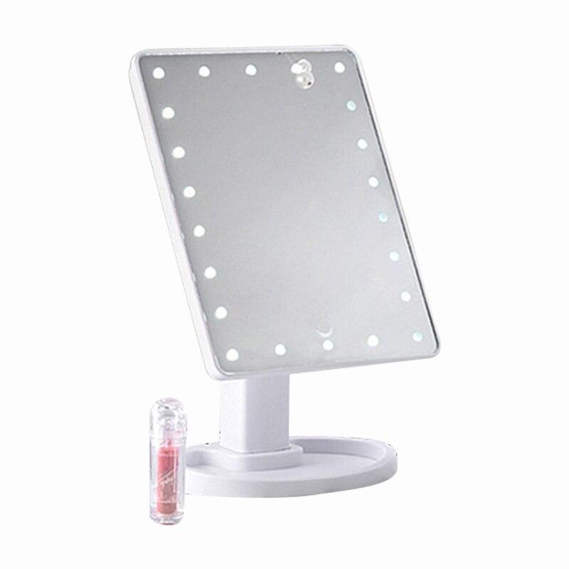 Book Lights 22 Led Light Press Screen Makeup Mirror Desktop Bright Adjustable Makeup Mirror Desktop Table Lamp Rotatable Makeup Mirro A Wide Selection Of Colours And Designs
