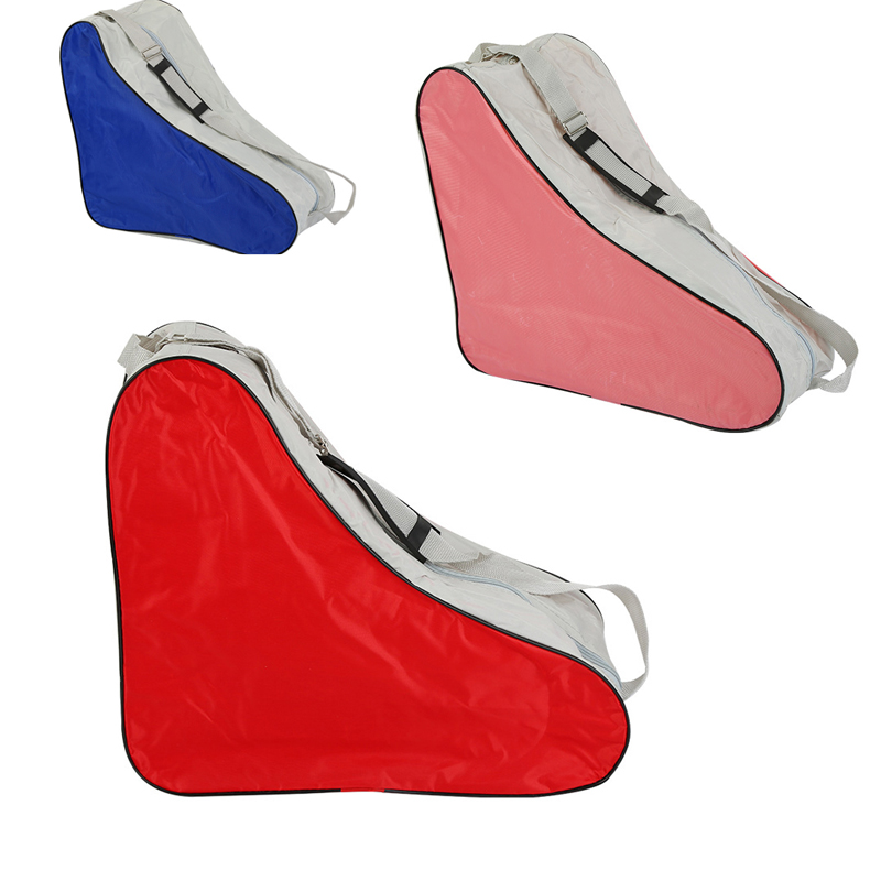 1 unidades triángulo Roller Skate bolsa portátil llevar correa de hombro bolsa portátil caso 3 colores