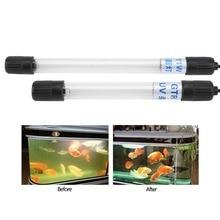 220-250V вело водоустойчивый свет бассеина подводный аквариум аквариум погружной УФ стерилизатор лампы новое США штекер