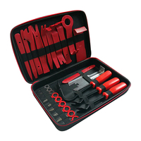 24pcs Car Audio Tool 24 In 1 Audio Instrument with Bag Radio Removal Tools Kit Panel Trim Clip Dash Molding Remover Audio