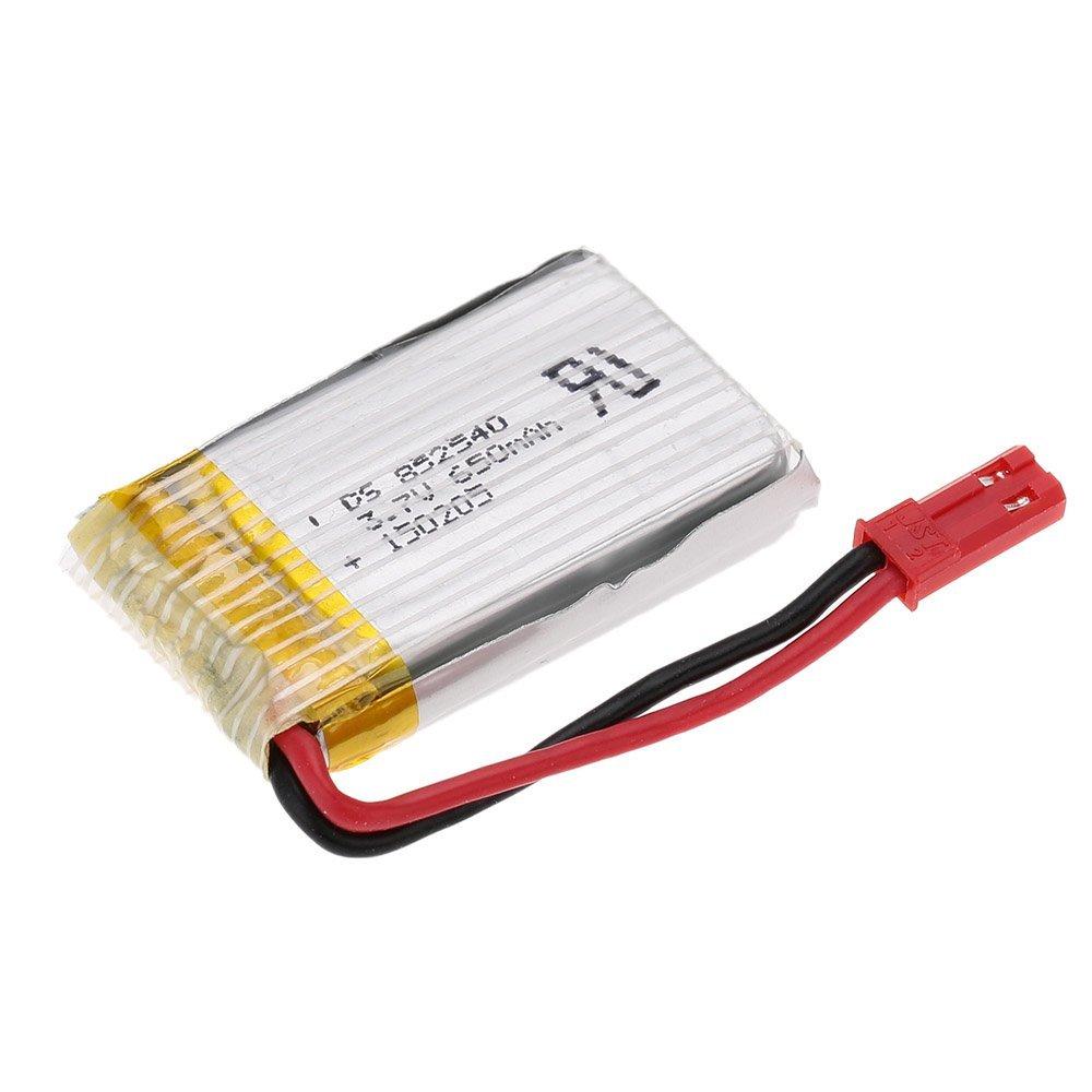 3.7V 650mAh LiPo Battery For Huajun W609-9 W609-10 RC Hexacopter Drone