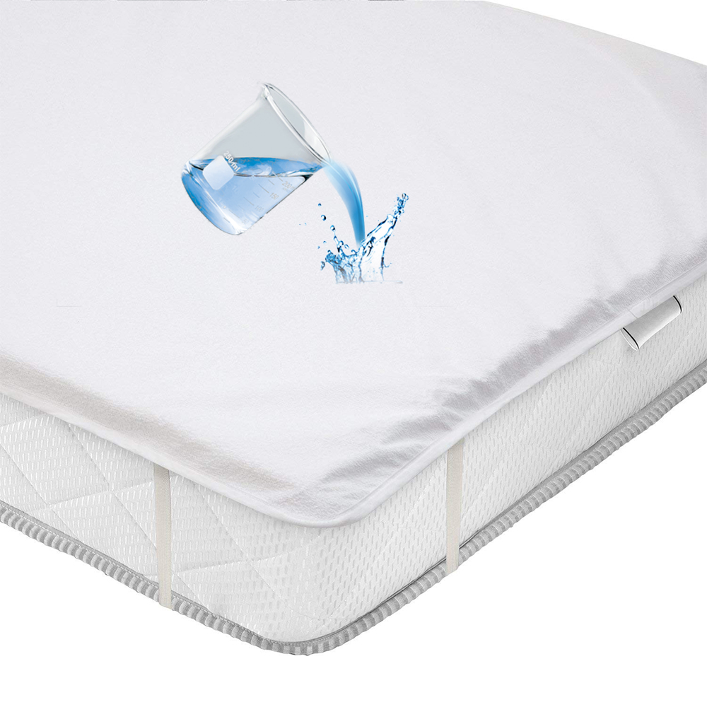 ALL Size Cotton Terry Waterproof Mattress Pad Cover Anti Mites Bed Sheet Waterproof Mattress Protector For Bed Mattress Topper