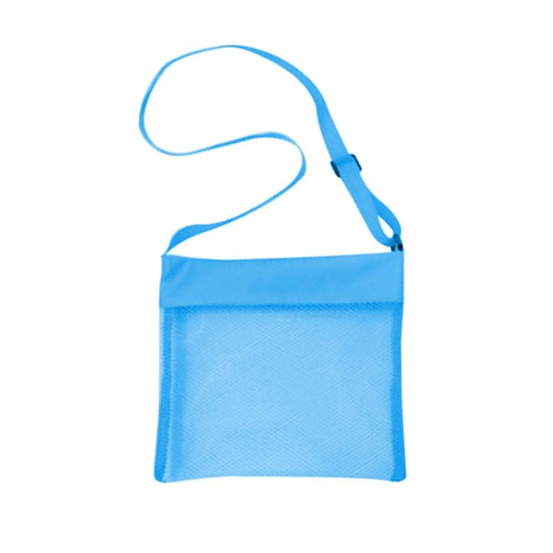1Pcs Baby Bathroom Mesh Bag for Bath Toy Portable Baby Seaside Mesh Bags Children Beach Sand