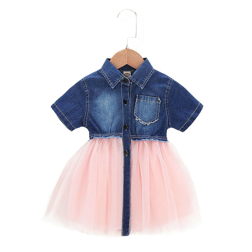 Baby Girl Jean Dress