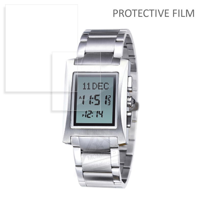 100 Pieces Anti-shock Tpu Protective Film 25x21mm Nano Soft Protective Film For Alfajr Ws-06 Wl-08 Harameen Watch 6281 6208 Easy To Lubricate Digital Watches