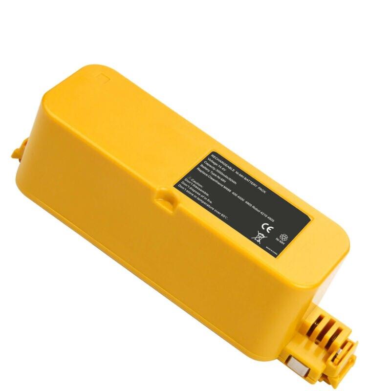 GTF 14.4 V 3500 mAh NI-MH Pour iRobot Roomba FloorVac 400 Série 418 4220 4230 4296 410 Remplacement Vide Batterie