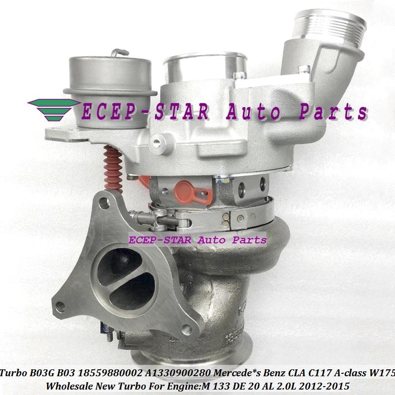 Turbo d'origine B03G B03 18559880002 18559700002 A1330900280 pour mercedes * s Benz CLA C117 classe A W175 M 133 DE 20 AL 2.0L 12-2015