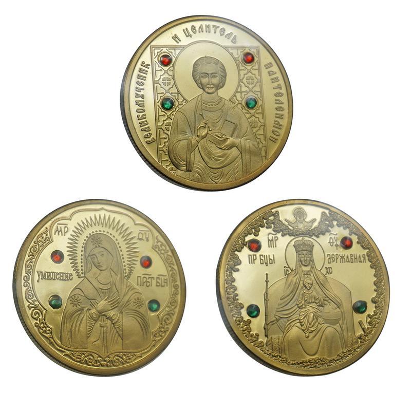 1pc The Republic Of Belarus Commemorative Coin Memorial Collection Souvenirs Collectibles Home Decoration Coins