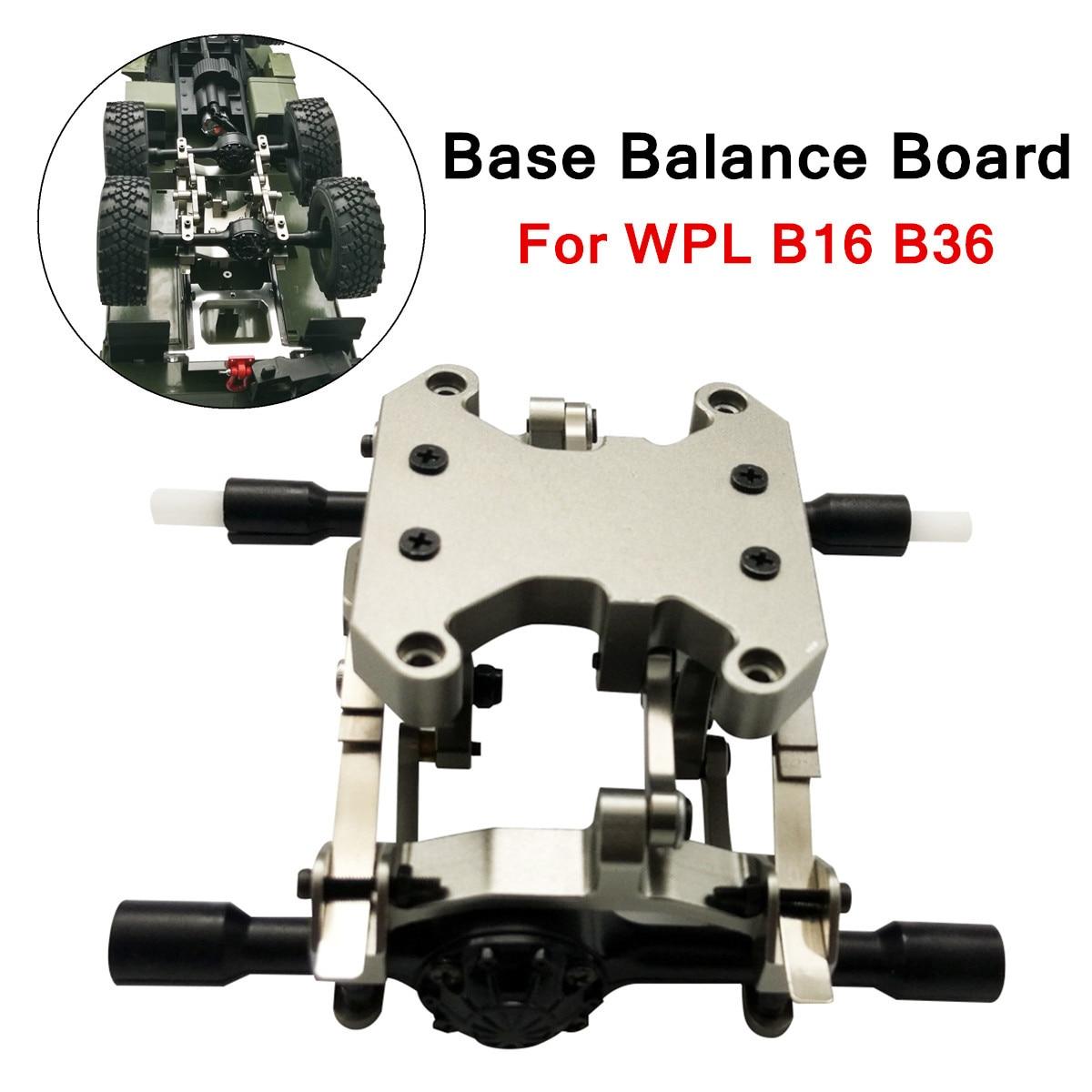Pour WPL B16 B36 Base de remplacement accessoires de tableau d'équilibre bricolage mise à niveau modèle modifié jouet télécommande cadre vis métal
