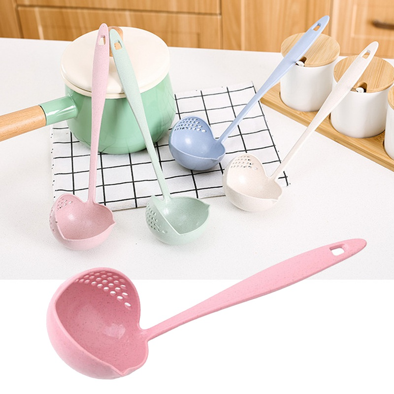 Heat Resistant Kitchen Utensils and Cooking Spatula with Filter Skimmer and Long Handle 4