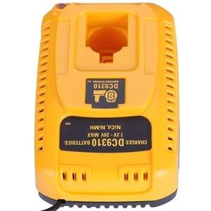 Image 5 - האיחוד האירופי Plug עבור Dewalt סוללה מטען DC9310 7.2V 18V Nicad & Nimh סוללה DW9057 DC9071 DC9091 DC9096 batteia מטען