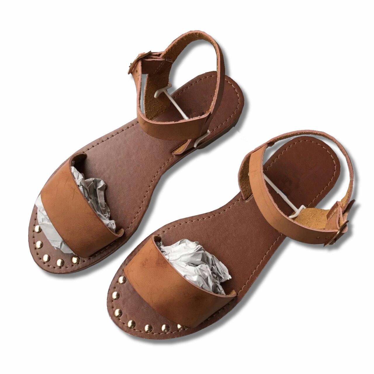 Women Sandals 2019 New Summer Slip-On Peep Toe Casual Sandals Gladiator Sandals Female Footwear Woman Shoes Sandalias Mujer