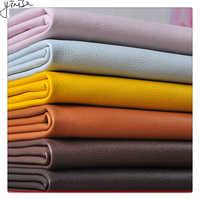 100*138cm Litchi cuir synthétique PU cuir tissu artificiel Faux cuir tissus bricolage sacs canapé décoration matériaux de couture Tissu en cuir synthétique artificiel de couleur fausse couleur cousant le sac de chaussu