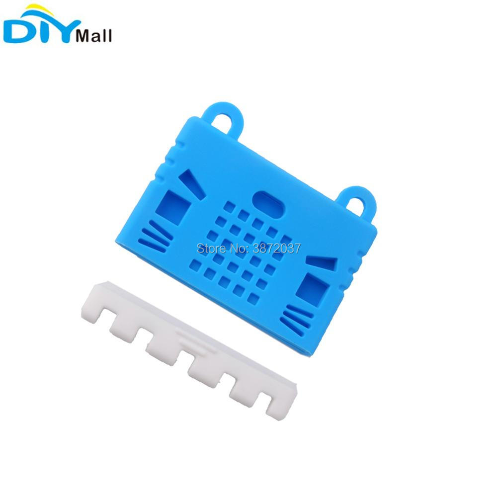 For BBC Micro:bit Microbit Protective Case Silicone Soft Cover Blue