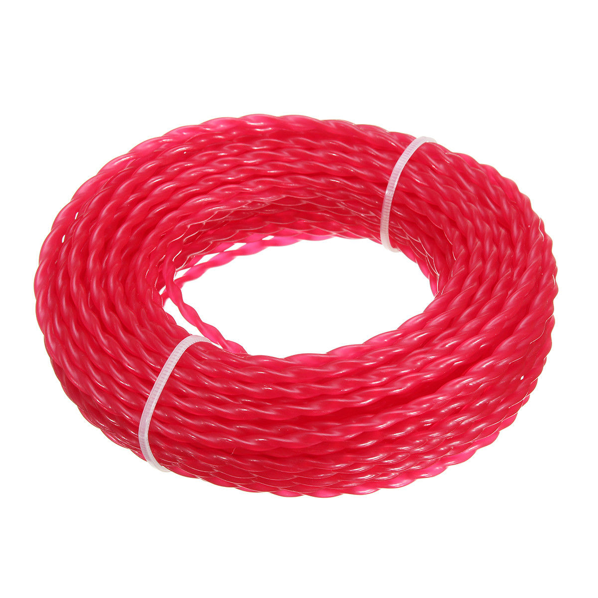 15m X 3mm Strimmer Line Brushcutter Grass Trimmer Nylon Cord Wire Round String Trimmer Line Replacement