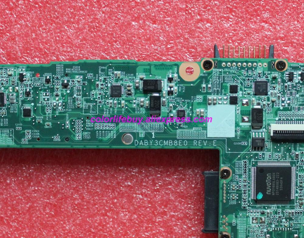 Image 5 - Genuine A000175320 DABY3CMB8E0 HM76 Laptop Motherboard Mainboard for Toshiba L840 L845 Notebook PC-in Laptop Motherboard from Computer & Office