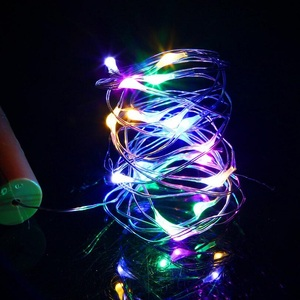 Image 4 - 10 20 30LED Wine Bottle Lights Cork Shaped Garland DIY Christmas String Lights For Party Halloween Wedding Decoracion