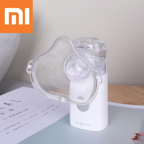 Xiaomi Andon Nebulizer With Micro Mesh Sifting Out Fog Anti Dry Protection Atomizer With Ultrasonic Vibration