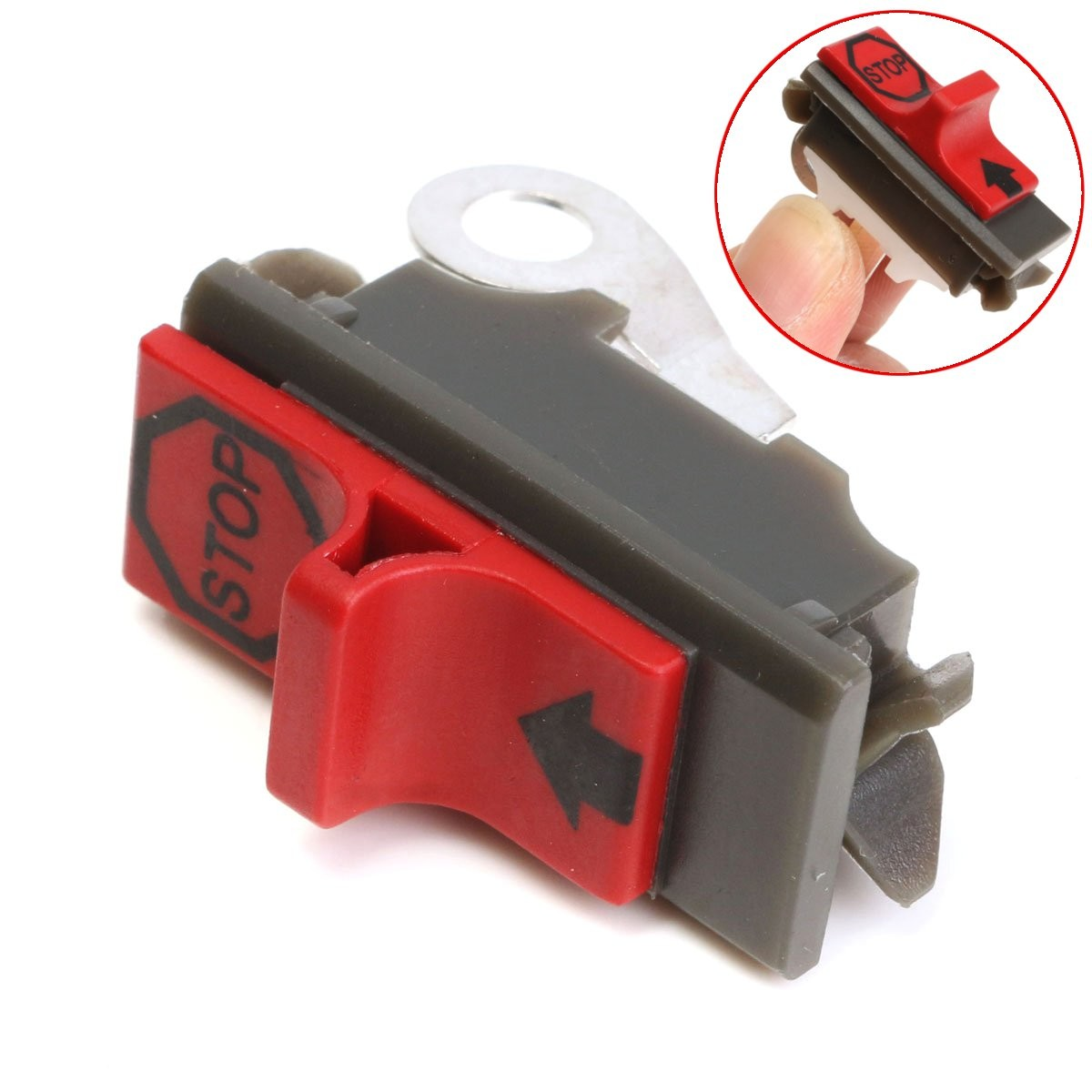 Gas Chainsaw Engine Switch For Husqvarna 41 42 50 51 55 61 Poulan Craftsman