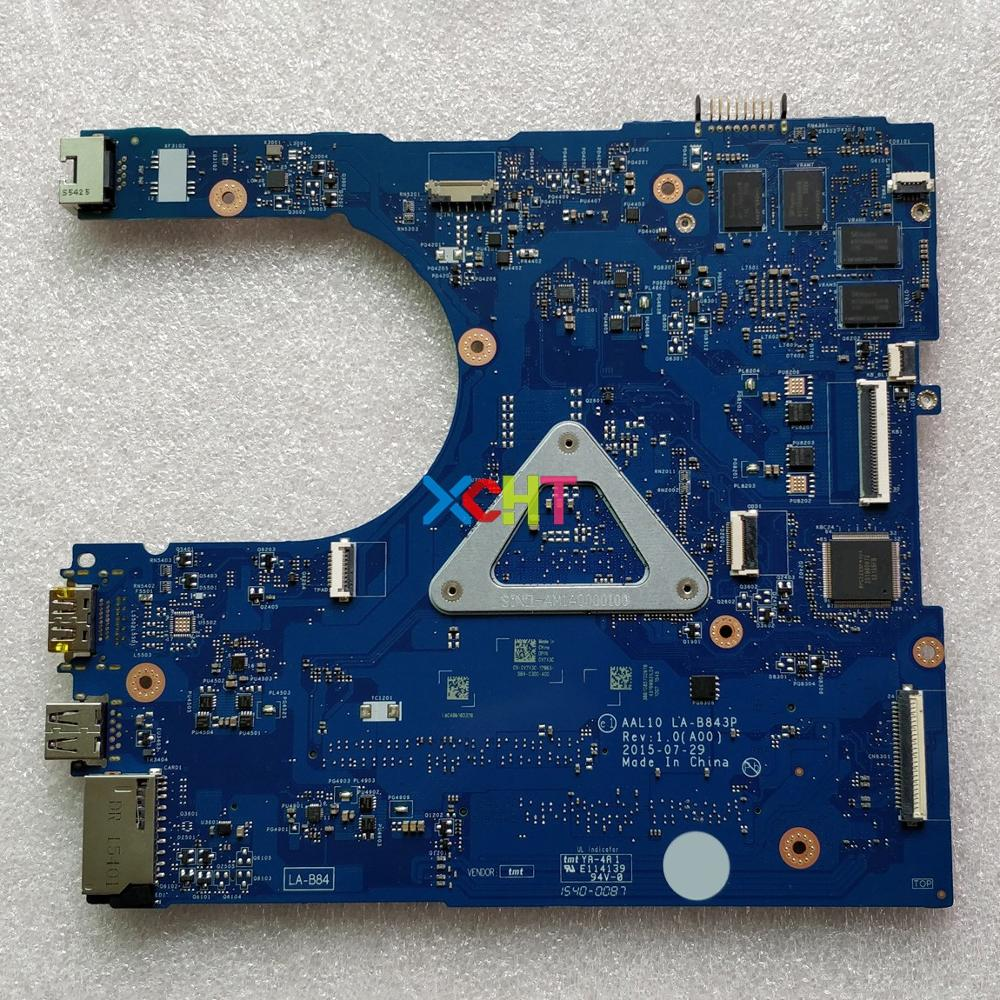 Image 2 - CN 0V2X3C 0V2X3C V2X3C AAL10 LA B843P w I7 5500U GT920M GPU for Dell Inspiron 5458 5558 5758 NoteBook Laptop Motherboard Tested-in Laptop Motherboard from Computer & Office