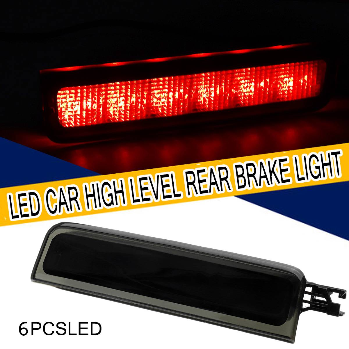 Led Car Third Brake Light High Level Rear Brake Light Stop Lamp Auto High Mount Brake Light for VW Caddy Touran 2004-2015