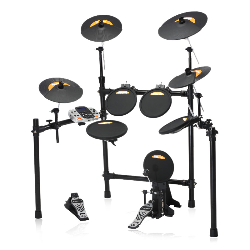 2019 Popular High- End With Bateria Eletronica  Drummen And Women General Beginner Link Computer Trigger Sensitive Electric Drum