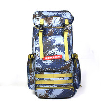 70L Large Camouflage Hiking Backpacks Big Capacity Nylon Military Tactical Backpack Outdoor Camp Sports Travel Bag Hand Bag цена в Москве и Питере