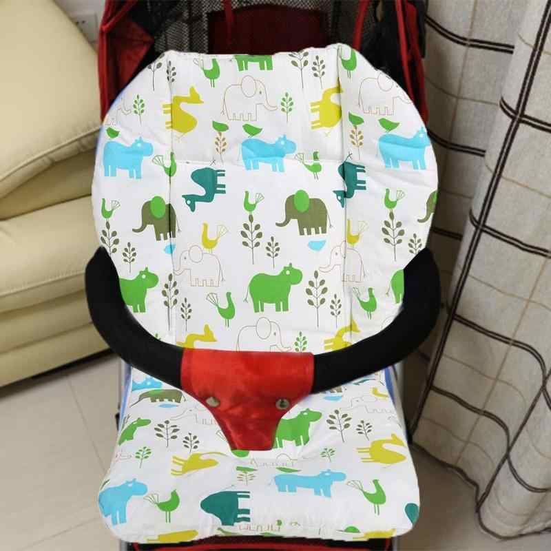 Children Pram High Chair Seat Pads Mats Baby Stroller Seat Cushion Infant Pram Mattress Kids Cart Dining Chair Thick Cover Mat