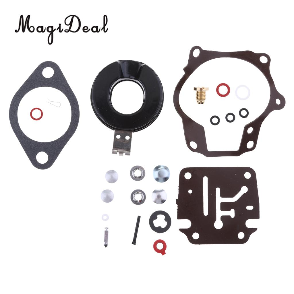 MagiDeal Durable Carburetor Repair Kit For Johnson Evinrude 20/30/40/50HP Outboard Motors Boats Yacht Dinghy Accessories
