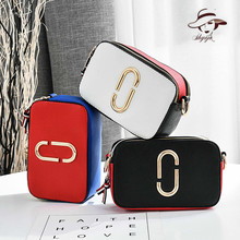 2018 Korean Pattern Hand Take Day Clutch Women Shoulder Bag Fashion Single Messenger Small  Tide Patchwork Patry Bags Handbags