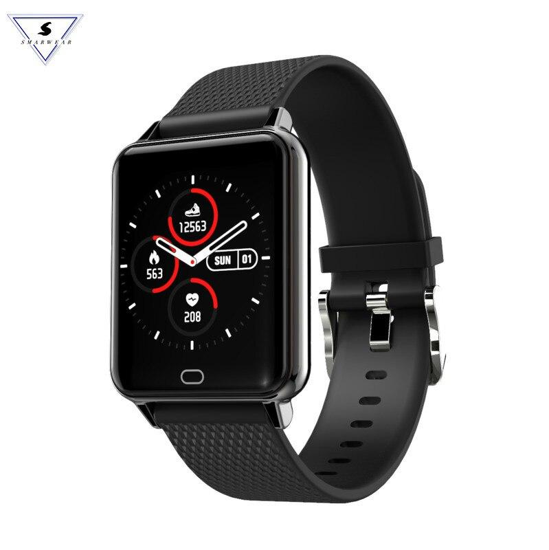 New M21 Ultra-thin Smart Watch Men Women Ip67 Blood Pressure Oxygen Heart Rate Monitor Watch Steps Mileage Tracker Smartwatch