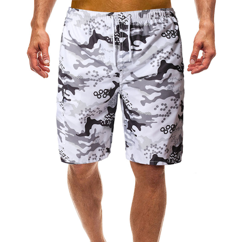 Camouflage   Board     Shorts   Bermuda Surf Mens Quick Dry   Shorts   Beach   Short   Summer Male Athletic Running Gym   Short   Man