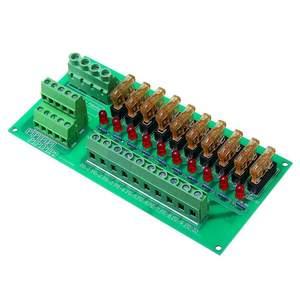 Image 3 - AC/DC 5 To 32V DIN Rail Mount 10 Position Power Distribution Fuse Holder Module Board