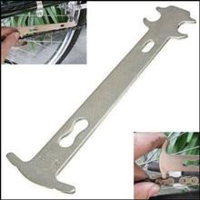1 Uds Indicador de desgaste de cadena de bicicleta Checker Mountain Road Bike MTB cadenas calibrador Regla de medición herramienta de reparación de reemplazo de ciclismo