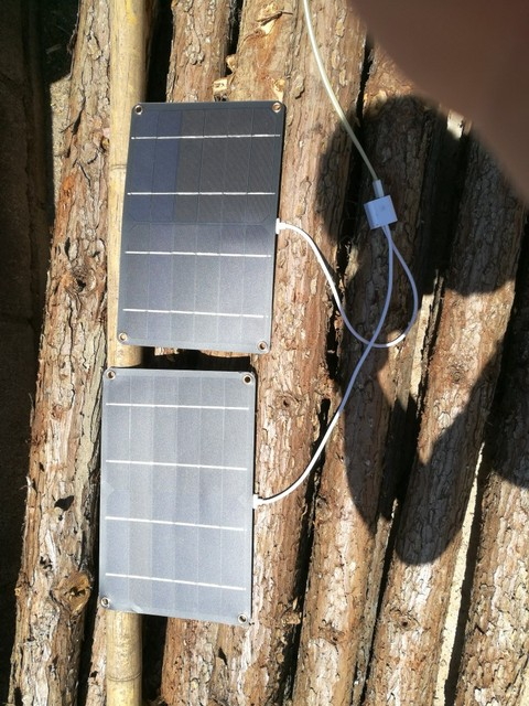 5V 1A USB Output Solar Charger  4