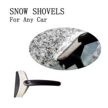 Winter Car Window Cleaning Snowplow Tool Windshield Snow Removal Scraper Ice Shovel