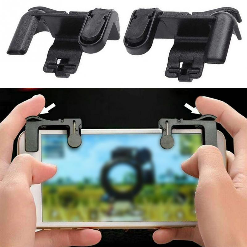 Mobile phone Game Fire Button Controller and joystick Survival Game grip Triggers Handle Aim Key for Knives Out/PUBG/Rules #G22