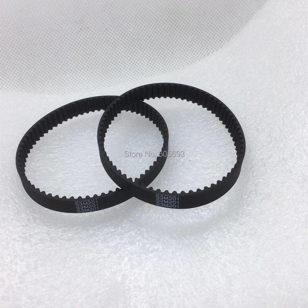 2 pieces each GT2 Closed Timing Belt 6 mm Wide 96mm