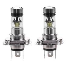 2 pcs H4 100 W 2828 20SMD Universale LED Dell'automobile di Alto Potere di Guida DRL Lampada Della Luce di Nebbia Lampadine di Inverso Dell'automobile luci Indicatori di Direzione Luci