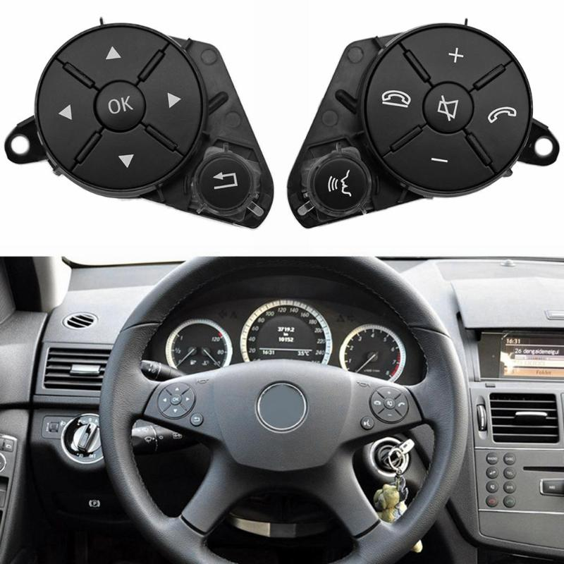 1 Pair multi function Left Right Steering Wheel Control Switch Remote Control Volume Control Button for