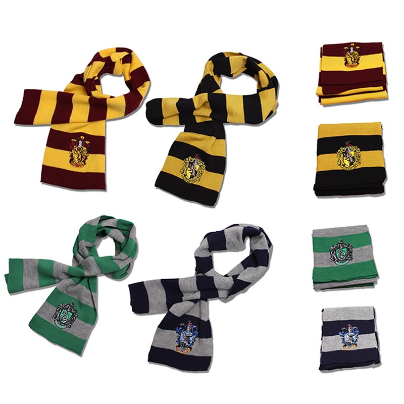 Milky Way Scarf Potter Hufflepuff Ravenclaw Slytherin Gryffindor Scarf Wool 160 Thin Thick Scarf For Male And Female