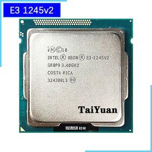 Image 1 - Intel Xeon E3 1245 v2 E3 1245v2 E3 1245 v2 3.4 GHz 쿼드 코어 8 스레드 CPU 프로세서 8M 77W LGA 1155