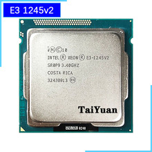 Intel Xeon E3 1245 v2 E3 1245v2 E3 1245 v2 3,4 GHz Quad Core Acht Gewinde CPU Prozessor 8M 77W LGA 1155