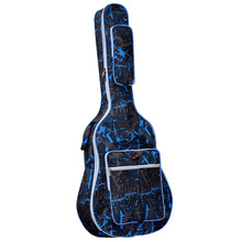 41/40 Fashion Camouflage Guitar Carrying Bag Adjustable Strap 600D Waterproof Oxford Cloth Carry