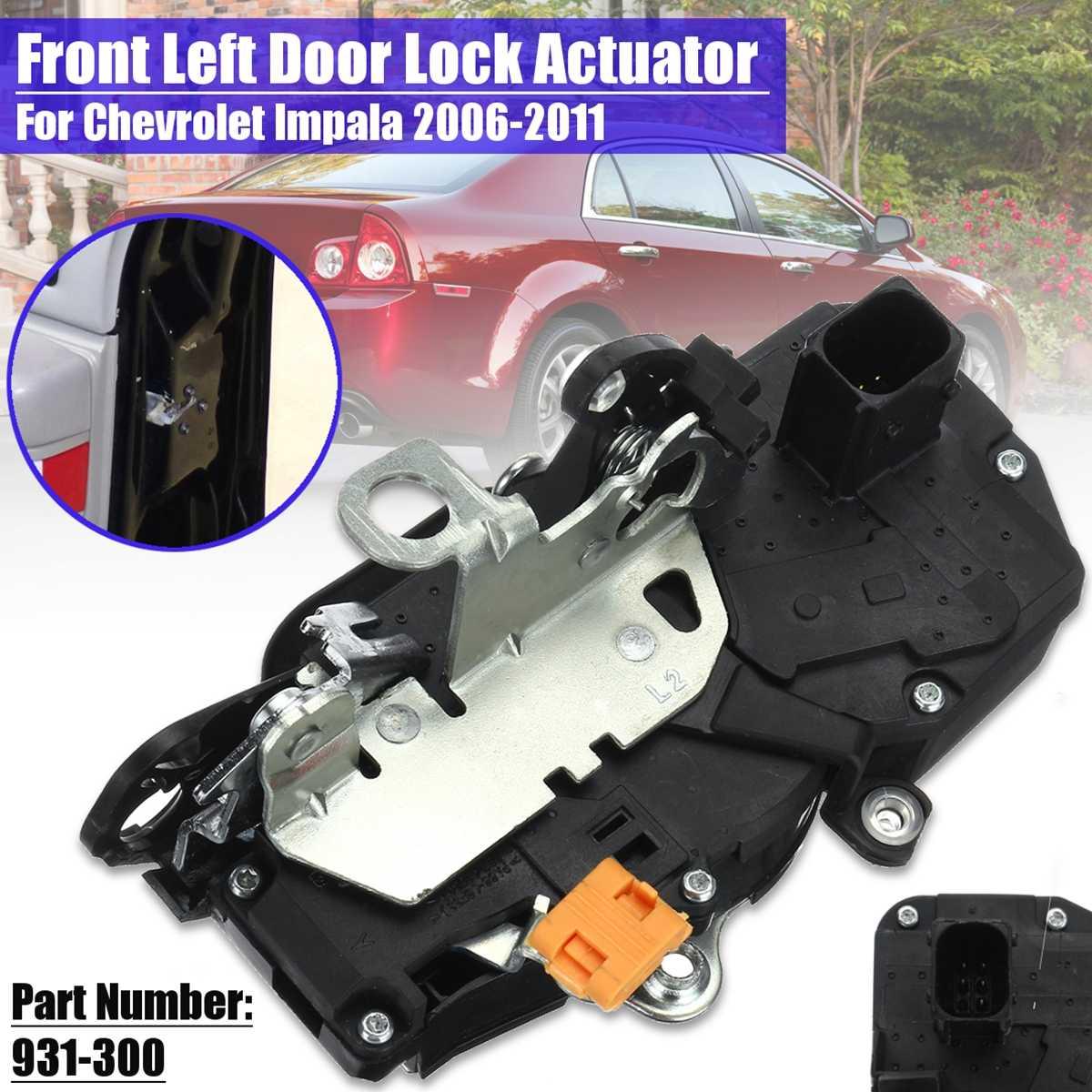 5 Pin Car Front Rear Power Door Lock Actuator For Chevrolet Impala 2006 2011 931 300 931 305 931 332 931 333